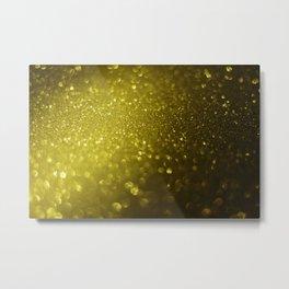 Glitter bokeh texture 8 Metal Print