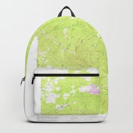 Groveland, CA from 1947 Vintage Map - High Quality Backpack
