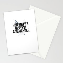 Humanity's Okayest Commander Stationery Cards
