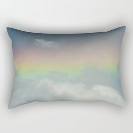 Rainbow in the Clouds Rectangular Pillow