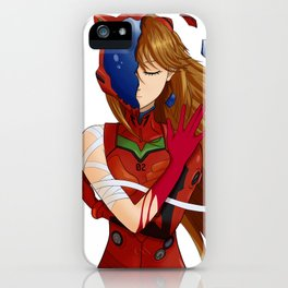 Asuka-Lucy crossover iPhone Case