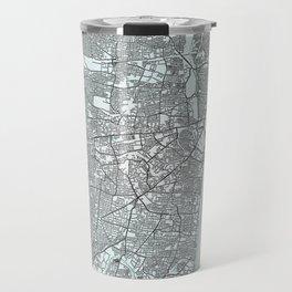Chennai, Tamil Nadu, India, White, City, Map Travel Mug