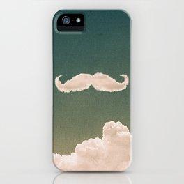 Mustache In the Cloud iPhone Case