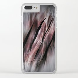 Feel the Rage Clear iPhone Case