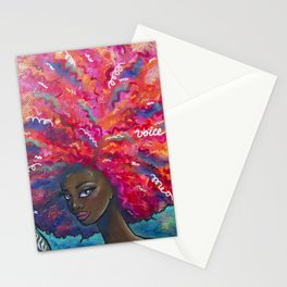 Voice it Girl Stationery Cards