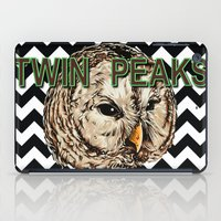 twin peaks iPad Cases featuring Twin Peaks by Avlis Leumas