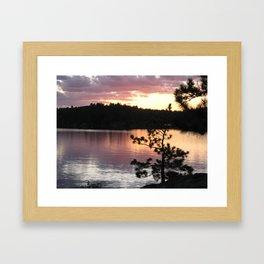 September Sky Framed Art Print
