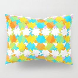 Octagons 2 - Gold and Green Pillow Sham