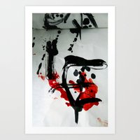 true blood Art Prints featuring TRUE BLOOD by Lazara Rosell Albear