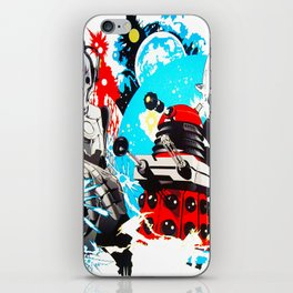 Doctor Who Mash Up iPhone Skin