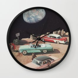 TOURISTS Wall Clock