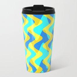 Crosswave Yellow - Electron Series 001 Travel Mug