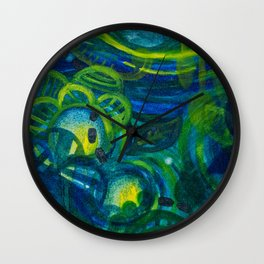 Blue Period Wall Clock