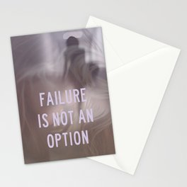 not an option Stationery Cards