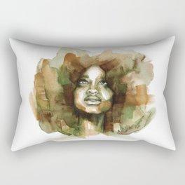 Erykah Badu Rectangular Pillow