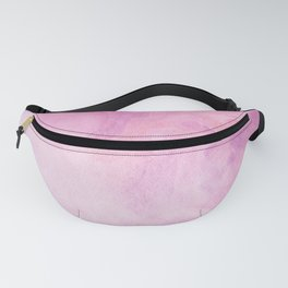 Artistic Watercolour Marble Pink Fanny Pack
