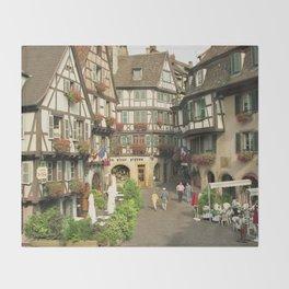Alsace - Colmar Throw Blanket