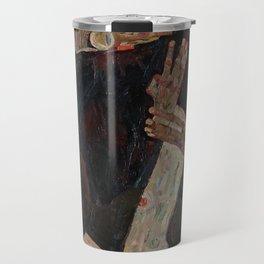 Egon Schiele - The Lyricist Travel Mug