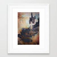 castlevania Framed Art Prints featuring Castlevania by Esco