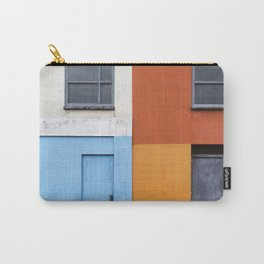 White Red Blue Orange Carry-All Pouch