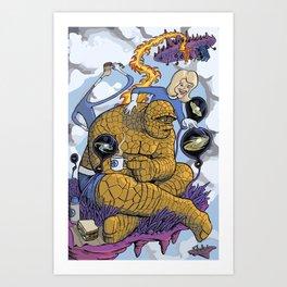 Fantast-a-picnic Art Print