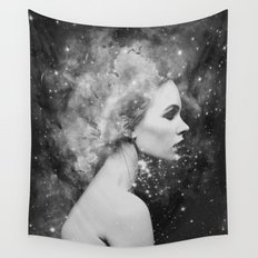 Head in the stars Wall Tapestry