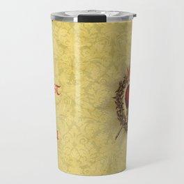 I trust in you Yellow Travel Mug