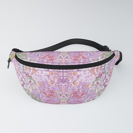 Lilac abstract kaleidoscope Fanny Pack