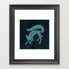 Star Fox (Vulpes astra) Framed Art Print