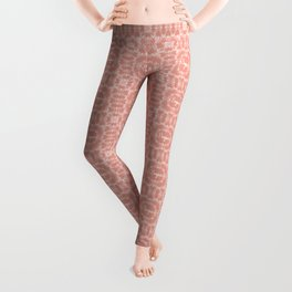 Bonjour - Autumn Peach Leggings