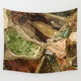 Gems collection 5 Wall Tapestry