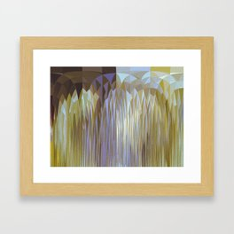 Icy Blast Framed Art Print
