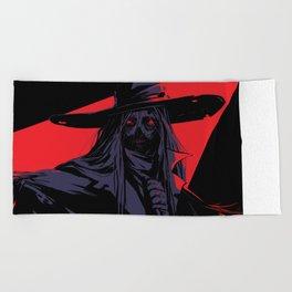 Scarecrow Beach Towel