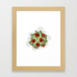 Bouquet #4 Framed Art Print