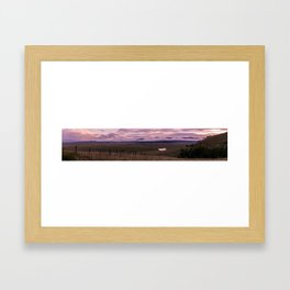 Kenosha Pass Framed Art Print