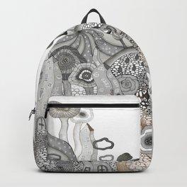 """""""Brown"""" illustration Backpack"""