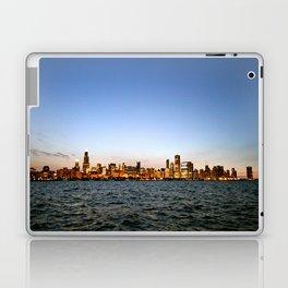 Chicago Skyline Sunset Laptop & iPad Skin