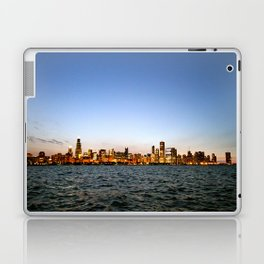 Chicago Skyline Sunset Laptop & iPad Skin