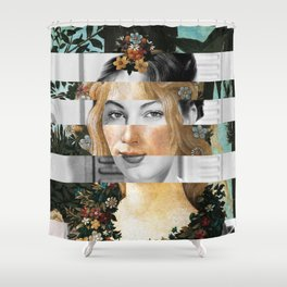 Sandro Botticelli's Flora & Ava Gardner Shower Curtain