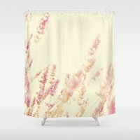 lavender Shower Curtains featuring Lavender by Ana Guisado