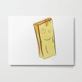 What's that Plank? Metal Print