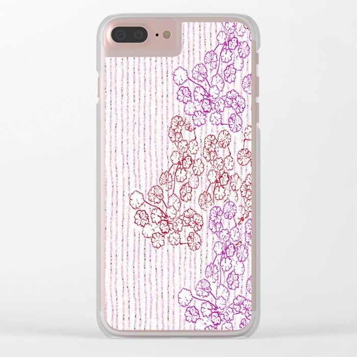 Springing in the blossoming Clear iPhone Case