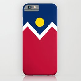 Denver City Flag iPhone Case