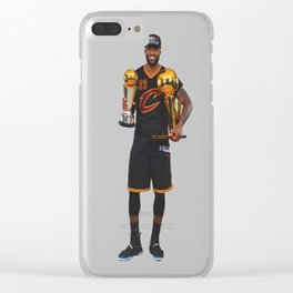 King James Bringing a Championship to The Land Clear iPhone Case