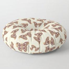 Atlas moth Floor Pillow