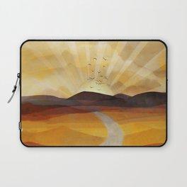 Desert in the Golden Sun Glow II Laptop Sleeve