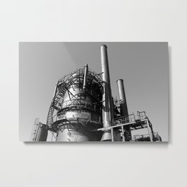 Monument to Industry Metal Print