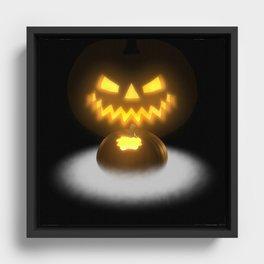 Pumpkin & Co. 2 Framed Canvas