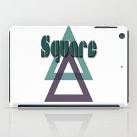 square iPad Cases featuring Square by Herzensdinge