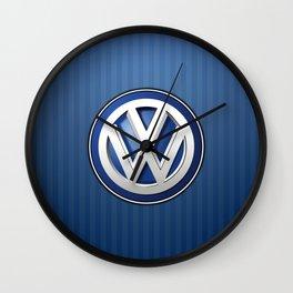 VWlogo Wall Clock